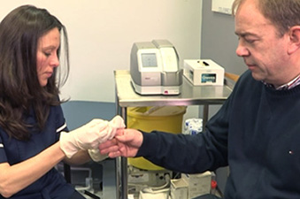 See how we help Dr. Wright provide his patients with access to diabetes point-of-care testing