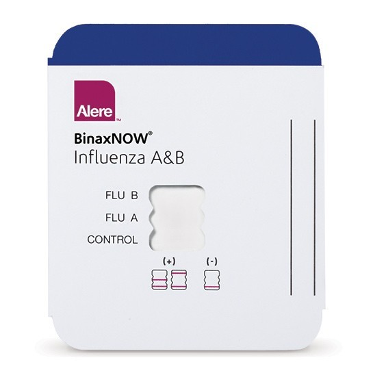 Alere BinaxNOW® Influenza A & B Card