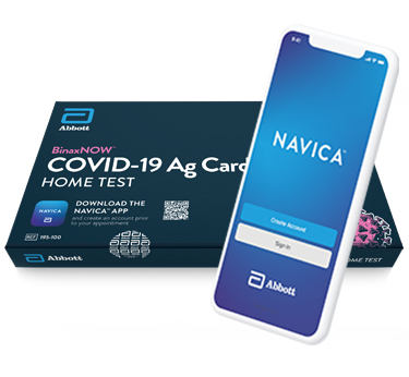 BinaxNOW COVID-19 Ag Card Home Test