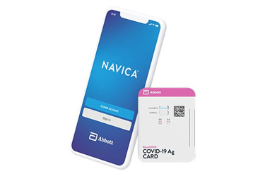 NAVICA™ Mobile app and BinaxNOW™ COVID-19 Ag Card