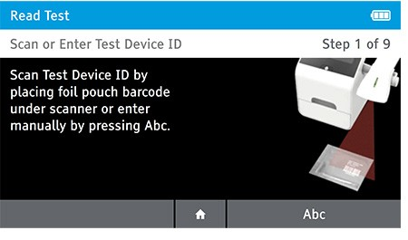 DIGIVAL test device ID